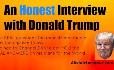 An HONEST interview with Donald Trump