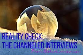 'Reality Check' The Channeled Interviews of Time, Death, US Dollar, Jesus and more